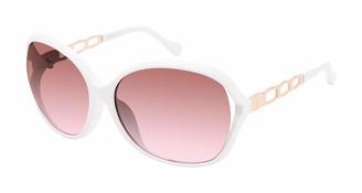 Jessica Simpson Women's J5827 UV Protective Oval Sunglasses