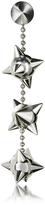 DSQUARED2 Pierce Me Palladium Plated Metal Spiked Single Long Earring