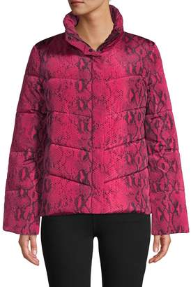 Betsey Johnson Quilted Full-Zip Jacket