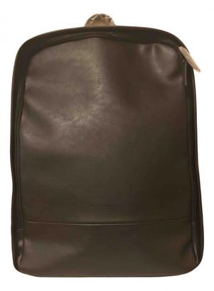Ermenegildo Zegna Black Synthetic Backpacks