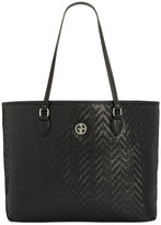 Giani Bernini Large Woven Tote, Only at Macy's