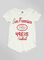 Junk Food Clothing Kids Girls Nfl San Francisco 49ers Tee-sugar-l