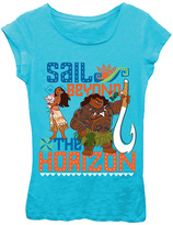 Freeze Turquoise Moana 'Sail Beyond' Short-Sleeve Tee - Girls