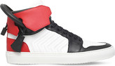 Buscemi Arrow 100mm leather high-top trainers