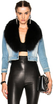 ThePerfext Carla Jean Jacket with Fox Fur Collar
