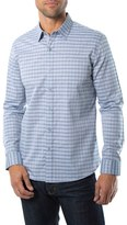 7 Diamonds Men's 'Nashville Skyline' Check Woven Shirt