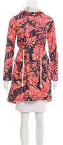 Matthew Williamson Hooded Abstract Jacket w/ Tags