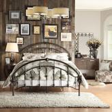 HomeSullivan Miranda Metal Round Top Queen-Size Bed