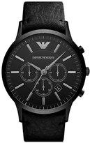 Emporio Armani Men's Large Round Chronograph Watch, 46Mm