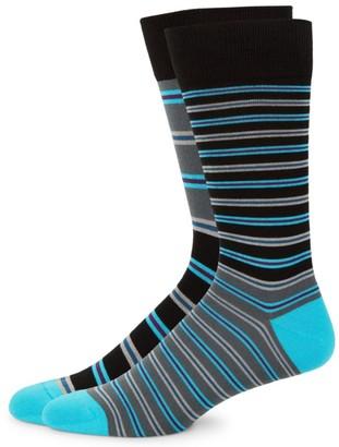 Paul Smith Striped Knit Socks