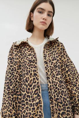 Gramicci Leopard Print Shell Jacket