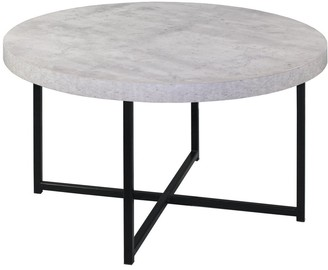 Home & Giftware Harper Faux Concrete Coffee Table
