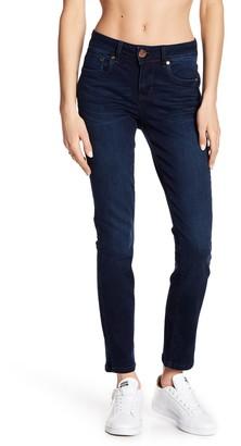 Seven7 Slim Maker Side Slits Straight Jeans