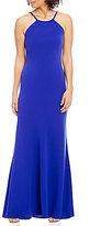 Calvin Klein Halter Neckline Gown
