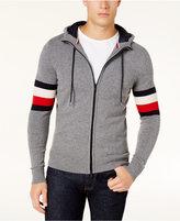 Tommy Hilfiger Men's Pharr Hooded Full-Zip Sweater