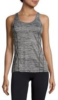 Reebok Dynamic Heathered Racerback Tank Top