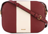Bally stripe detail crossbody bag - women - Calf Leather - One Size