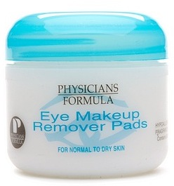 Physicians Formula Eye Makeup Remover Pads, For Normal to Dry Skin