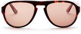 Ben Sherman Men's Acetate Keyhole Aviator Sunglasses
