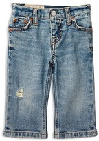 Ralph Lauren Infant Boys' Distressed Skinny Jeans - Sizes 6-24 Months