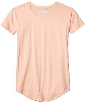 Pact Organic Cotton Sleep Tee (Sherbert) Women's Pajama