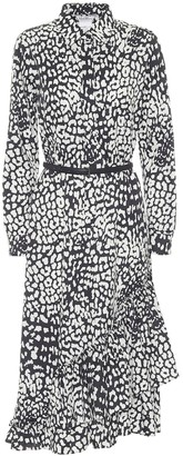Max Mara Lipari printed cotton midi dress