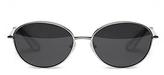 Elizabeth and James Fenn Oval Sunglasses, 57mm
