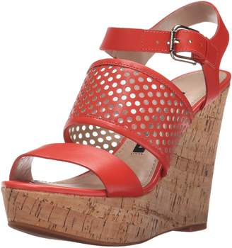 French Connection Women's Devi Wedge Sandal