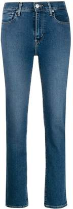 Levi's high-rise denim jeans