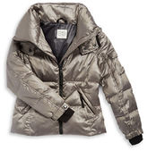 Jessica Simpson Girls 7-16 Packable Hooded Down Coat