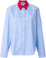 Prada pinstriped formal shirt