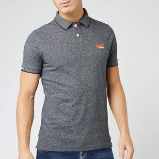 Superdry Men's Orange Label Jersey Short Sleeve Polo Shirt