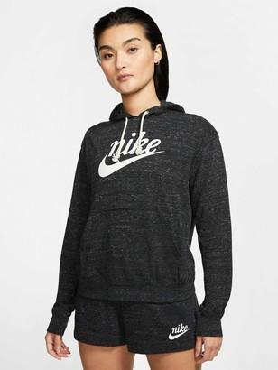 Nike Nsw Gym Vintage Pullover Hoodie - Black