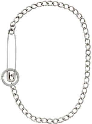 Martine Ali Silver Pin Necklace