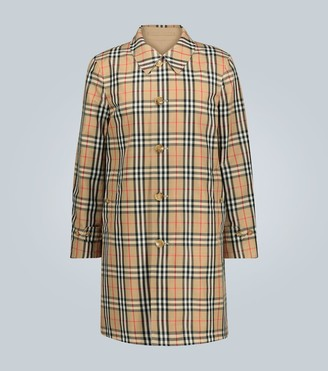 Burberry Vintage check reversible raincoat