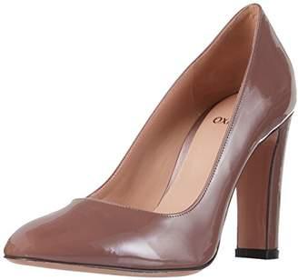 Oxitaly Women's Rosalia 100 Closed Toe Heels, Pink (Antik)