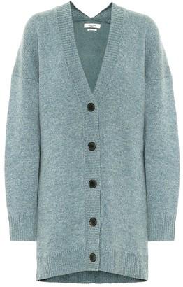 Etoile Isabel Marant Moana wool-blend oversized cardigan