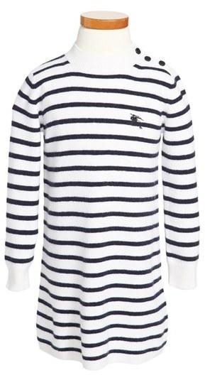 Burberry 'Salina' Sweater Dress (Toddler Girls, Little Girls & Big Girls)