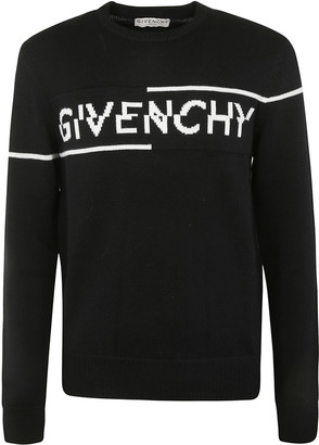 Givenchy Chest Logo Knit Sweater