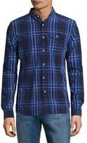 Superdry Plaid Cotton Button-Down Shirt