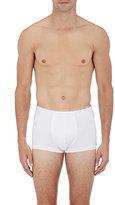 Hanro Men's Superior Boxer Briefs-WHITE