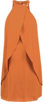 A.L.C. Shane layered silk mini dress