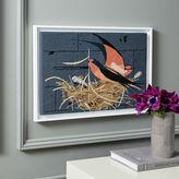 west elm Charley Harper Tapestry Wall Art - Barn Swallow
