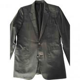 Christian Dior Black Silk Jackets