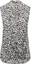 M&Co Animal wrap top