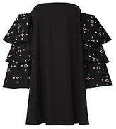 Caroline Constas Carmen Embroidery Dress
