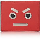 "Fendi Men's ""No Words"" Card Case-RED"