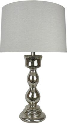 Ahs Lighting & Home Decor 30In Paris Mercury Glass Table Lamp