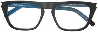 Saint Laurent Round Frame Glasses