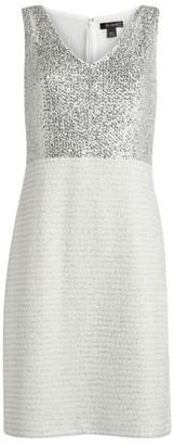 St. John Contrast Pencil Dress